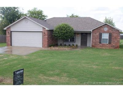 Claremore Single Family Home For Sale: 9211 E Shiloh Road