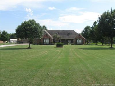 Claremore Single Family Home For Sale: 9450 E 500 Road