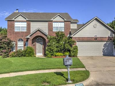 Broken Arrow Single Family Home For Sale: 3322 W Broadway Circle