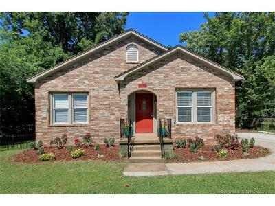 Tulsa Single Family Home For Sale: 1534 S Jamestown Avenue