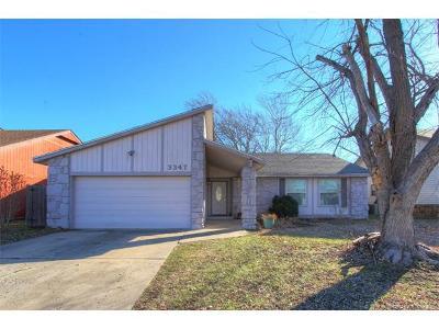 Tulsa Single Family Home For Sale: 3347 S 137th East Avenue