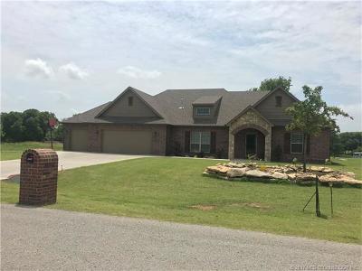 Claremore Single Family Home For Sale: 20750 S Oqeche Road