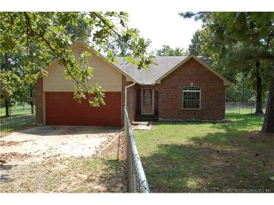 Hulbert OK Single Family Home For Sale: $124,900
