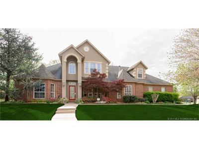 Broken Arrow Single Family Home For Sale: 3909 N Battle Creek Drive