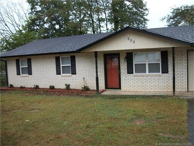 Tahlequah OK Single Family Home For Sale: $114,900