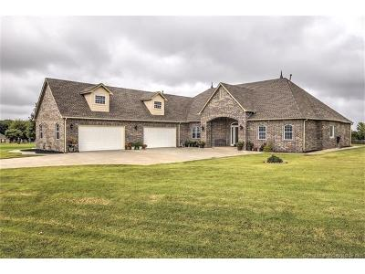 Owasso Single Family Home For Sale: 6514 S Ridgeview Road