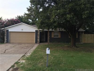 Glenpool Single Family Home For Sale: 591 E 135th Place