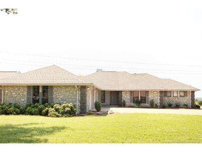 Catoosa Single Family Home For Sale: 18820 Ridge Road