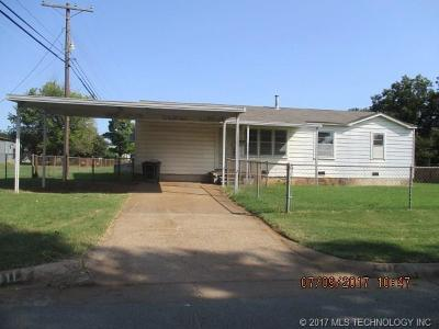 Sand Springs Single Family Home For Sale: 411 W 45th Street
