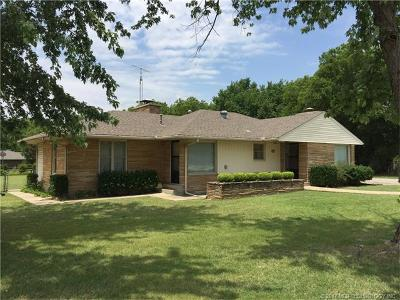 Ada OK Single Family Home For Sale: $129,000