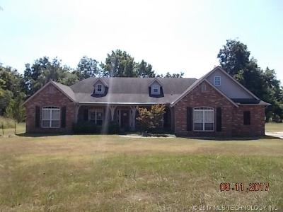 Claremore Single Family Home For Sale: 15831 S 4110 Road
