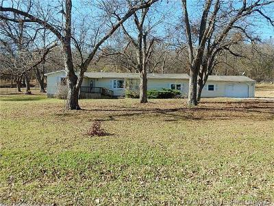 Claremore Single Family Home For Sale: 15570 Red Rock Ranch Road