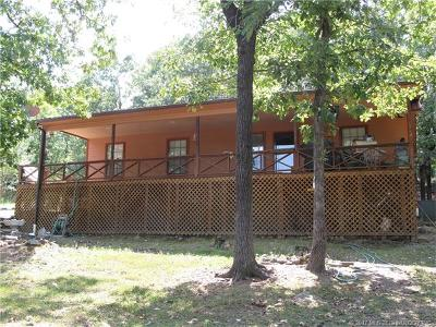 Cookson OK Single Family Home For Sale: $148,500
