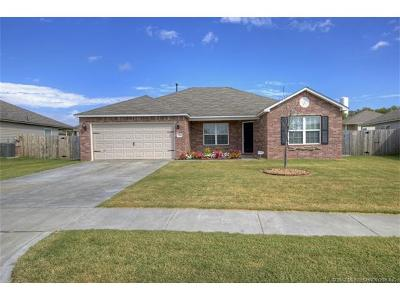 Claremore Single Family Home For Sale: 23109 S Jewell Drive