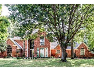 Tulsa Single Family Home For Sale: 11109 Hudson Avenue