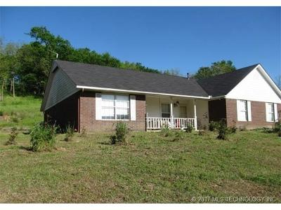 Claremore Single Family Home For Sale: 20903 S 4180 Road