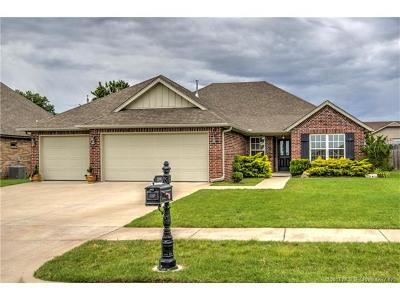 Glenpool Single Family Home For Sale: 1105 E 133rd Place