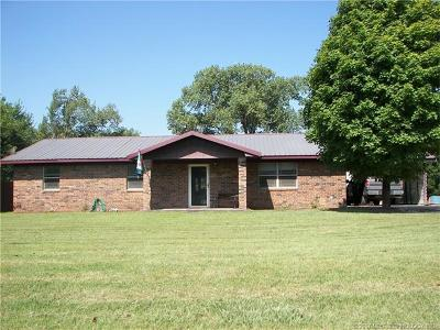 Ada OK Single Family Home For Sale: $118,500