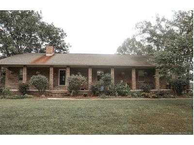 Okmulgee Single Family Home For Sale: 18700 Wilson Road