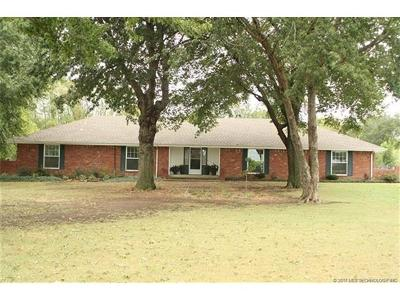 Claremore Single Family Home For Sale: 19303 S Hwy 88 Old