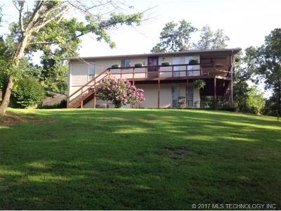 Cookson OK Single Family Home For Sale: $249,500
