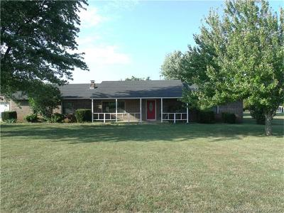 Claremore Single Family Home For Sale: 11981 S 4177 Place