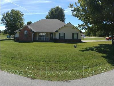 Claremore OK Single Family Home For Sale: $189,900