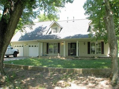 Claremore Single Family Home For Sale: 9095 E Salem Drive