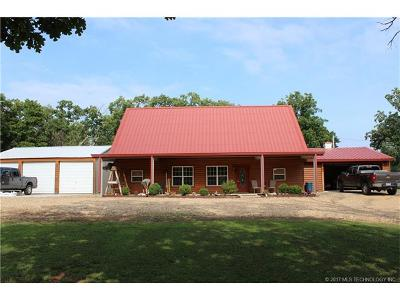Cookson OK Single Family Home For Sale: $239,000