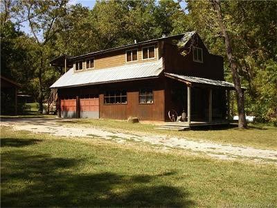 Tahlequah OK Single Family Home For Sale: $315,000