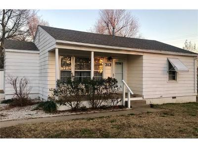 Owasso Single Family Home For Sale: 313 N Ash Street