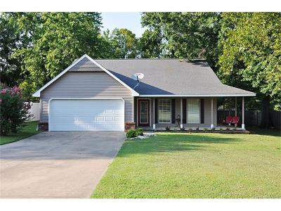 Claremore Single Family Home For Sale: 610 E Blue Starr Drive