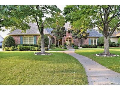 Tulsa Single Family Home For Sale: 5507 E 106th Place