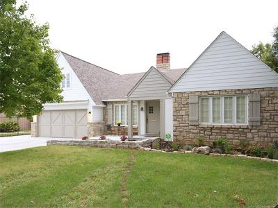 Tulsa Single Family Home For Sale: 2545 S Columbia Place