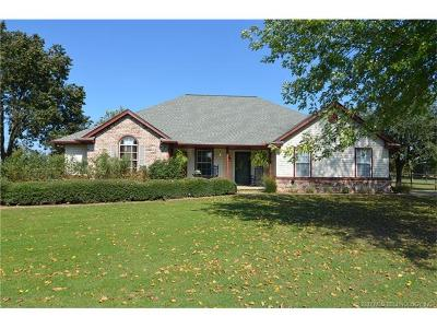 Claremore Single Family Home For Sale: 8125 E Country Road Drive