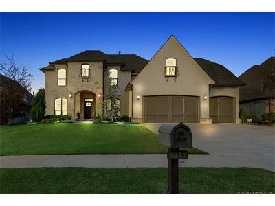 Broken Arrow, Jenks, Tulsa Single Family Home For Sale: 9411 E 108th Place S