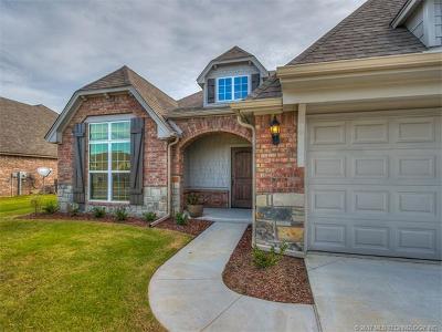 Glenpool Single Family Home For Sale: 13647 S Kenosha Avenue