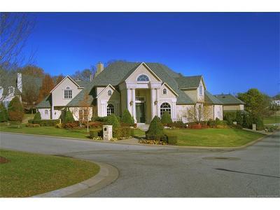 Broken Arrow, Jenks, Tulsa Single Family Home For Sale: 10809 S Marion Avenue