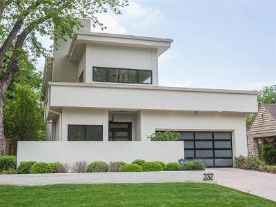 Broken Arrow, Jenks, Tulsa Single Family Home For Sale: 232 Hazel Boulevard