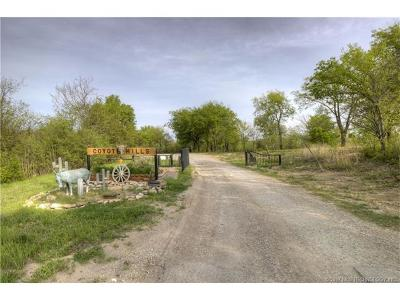 Claremore Residential Lots & Land For Sale: 8663 S Coyote Hills Drive