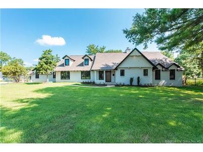 Broken Arrow, Jenks, Tulsa Single Family Home For Sale: 4041 S Birmingham Avenue