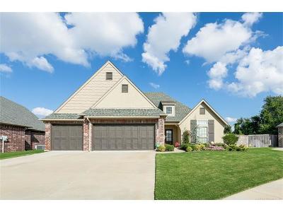 Broken Arrow, Jenks, Tulsa Single Family Home For Sale: 1309 S Kalanchoe Avenue