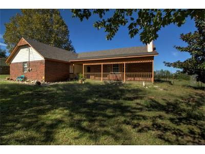 Claremore Single Family Home For Sale: 11363 E Southern Hills Road
