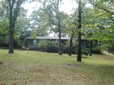Cookson OK Single Family Home For Sale: $225,000