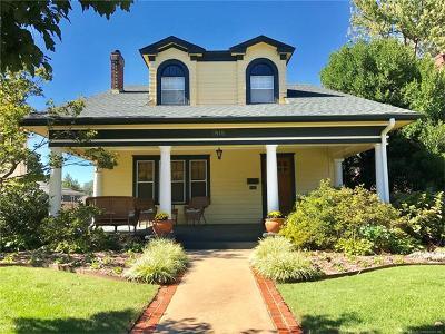 Broken Arrow, Jenks, Tulsa Single Family Home For Sale: 1518 S Owasso Avenue