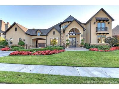 Broken Arrow, Jenks, Tulsa Single Family Home For Sale: 11531 S Oswego Avenue