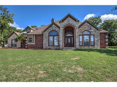 Sand Springs Single Family Home For Sale: 1125 Pond Creek Drive