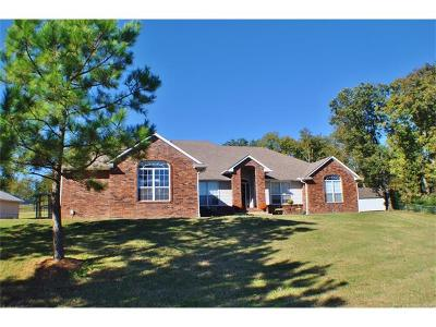 Claremore Single Family Home For Sale: 24212 S Ridgewood Drive