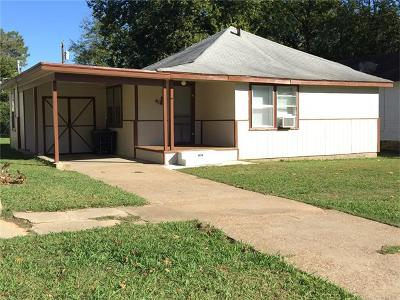 Okmulgee Single Family Home For Sale: 411 S Central Avenue