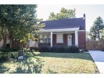 Tulsa Single Family Home For Sale: 1616 S Florence Place